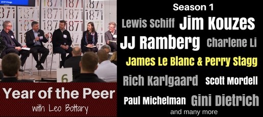 James Le Blanc & Perry Stagg: Year Of The Peer Podcast (Season 1, Episode 25)