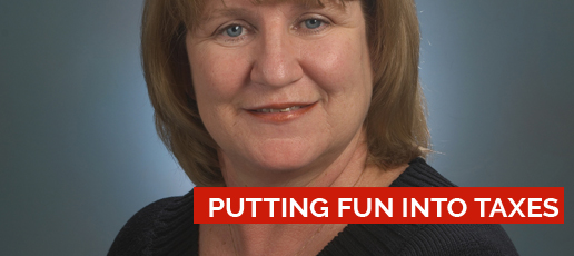Martha O'Gorman: Putting Fun into Taxes