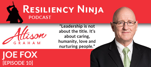 010 Joe Fox: The Reality of Being a Leader