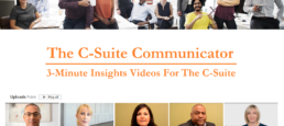 The C-Suite Communicator