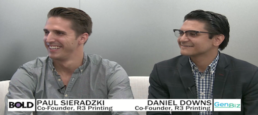 Daniel Downs and Paul Sieradzki: 'We're trying to unlock scale in the 3-D printing industry'