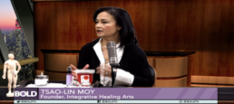 Tsao-Lin Moy: 'Chinese healing for your stress and anxiety'