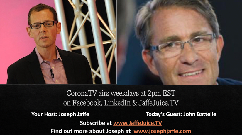 CoronaTV 9.23 – The (Re)Count, John Battelle