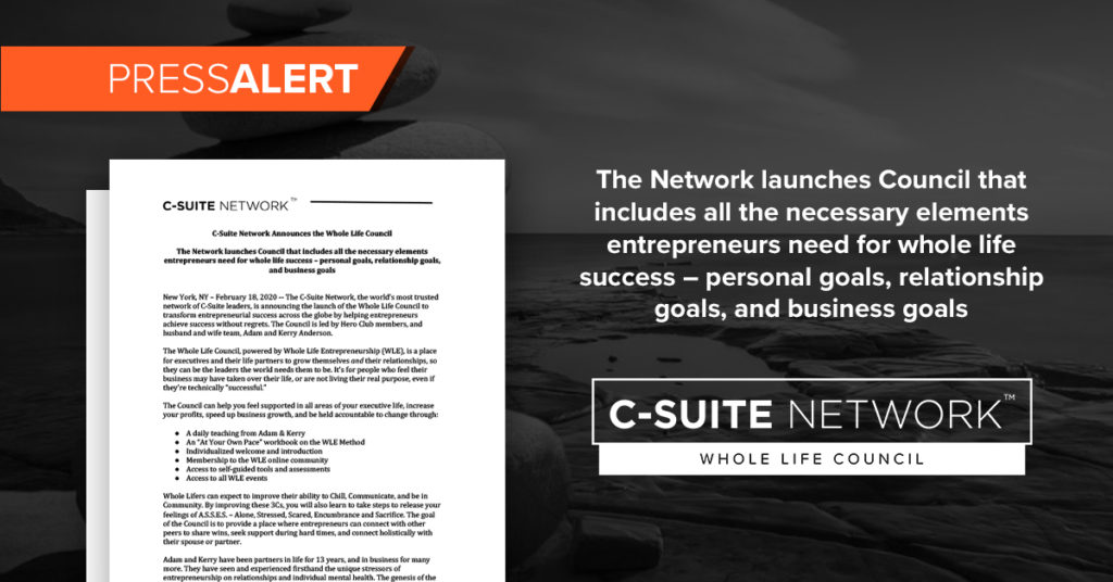 C-Suite Network CEO Leadership Council