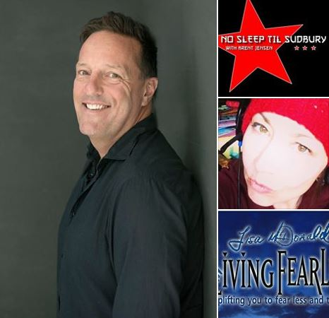 Brent Jensen on Living Fearlessly with Lisa McDonald 11/3/2017